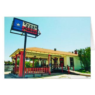 Texas 290 Diner, Johnson City, TX Card