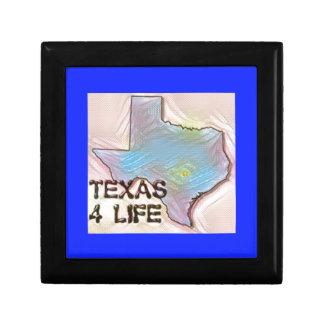 """Texas 4 Life"" State Map Pride Design Gift Box"