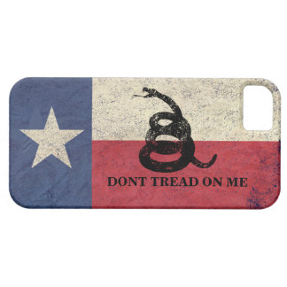 Texas and Gadsden Flag Case For The iPhone 5