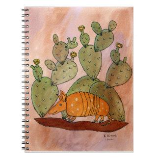 Texas Armadillo Note Book