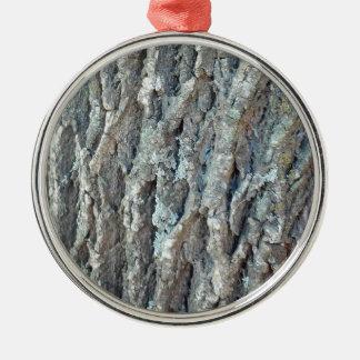 Texas Ash Tree Silver-Colored Round Ornament