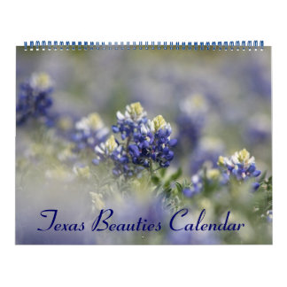 Texas Beauties: Create Your Own Bluebonnet Calendar