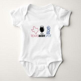 Texas Beer Spot Baby Bodysuit