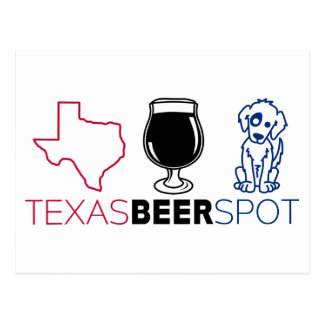 Texas Beer Spot Postcard