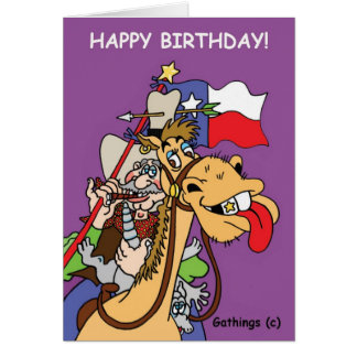 TEXAS BIRTHDAY CARD