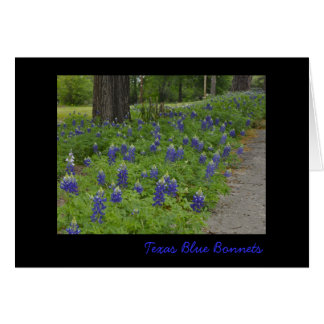Texas Blue Bonnets - Note Card