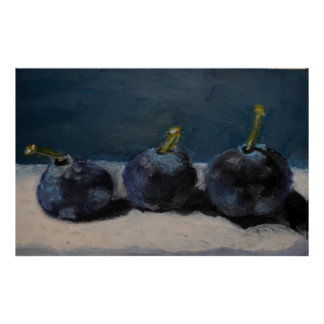 Texas Blueberries Poster