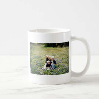 Texas Bluebonnet Boys Coffee Mug