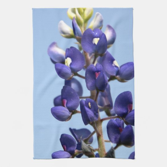 Texas Bluebonnet Kitchen Towel