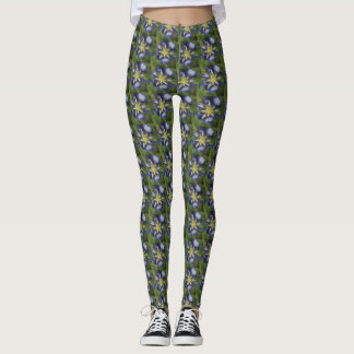 Texas Bluebonnet Leggings