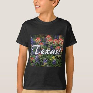 Texas Bluebonnets Paintbrushes T-Shirt