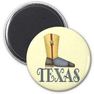 Texas Boot Design Gift Magnet