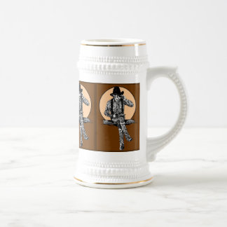 Texas Boots Beer Stein