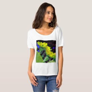 Texas Cactus Flowers T-Shirt