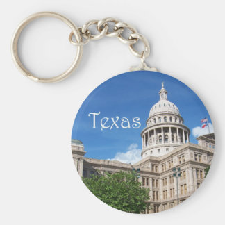Texas Capital Building Keychain