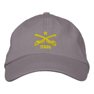 Texas Cavalry (Embroidered) Embroidered Hat