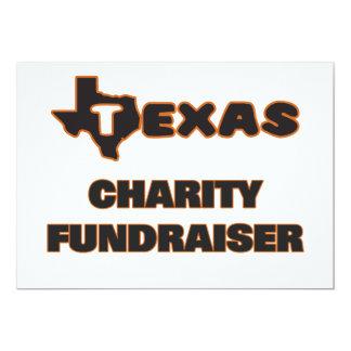 "Texas Charity Fundraiser 5"" X 7"" Invitation Card"