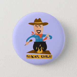 Texas Chili 2 Inch Round Button