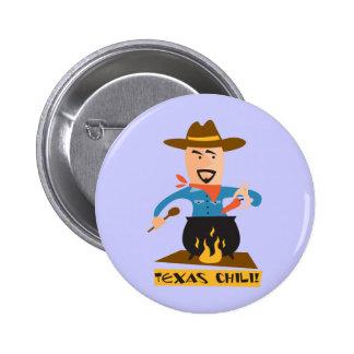 Texas Chili 2 Inch Round Button