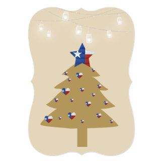 Texas Christmas Tree Card