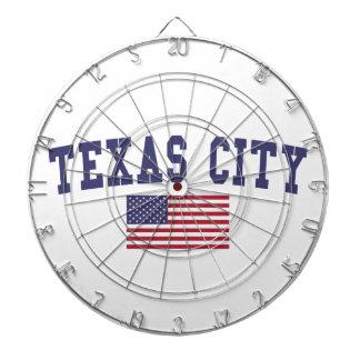 Texas City US Flag Dartboard