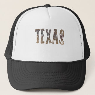 Texas Coffee and Stars Trucker Hat