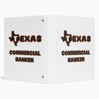 Texas Commercial Banker Vinyl Binders