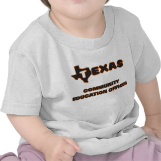 Texas Community Education Officer Tees