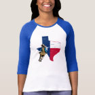 Texas Cowgirl On Horse T-Shirt