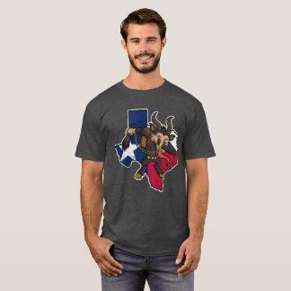 Texas Dabbing Krampus Christmas T-Shirt