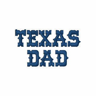 TEXAS DAD EMBROIDERED SHIRT
