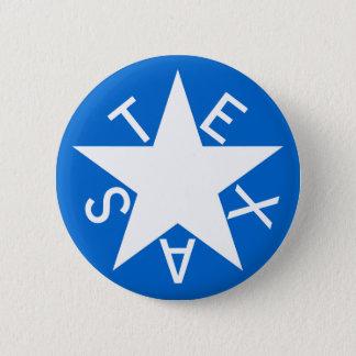 Texas De Zavala Flag Pen 2 Inch Round Button