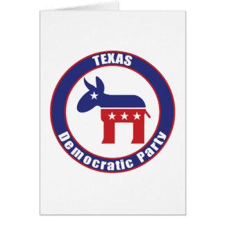 Texas Democratic Party Card