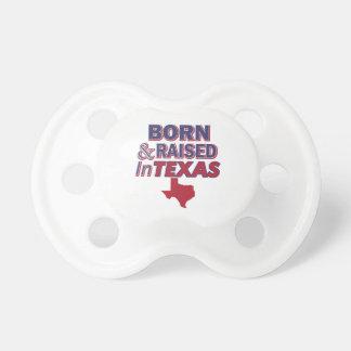 Texas design pacifiers