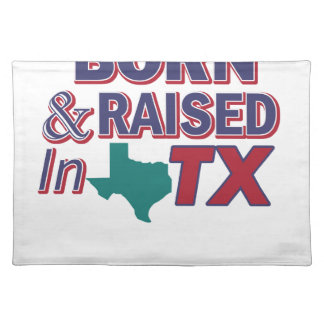 TEXAS Design Placemat