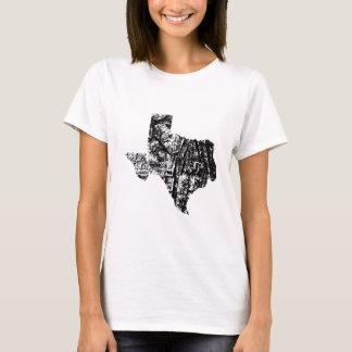 Texas Distressed Womens Shirt