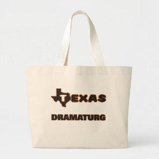Texas Dramaturg Large Tote Bag