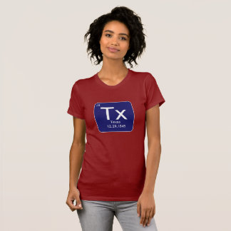 Texas Element Womens T Shirt