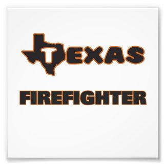 Texas Firefighter Photo Print