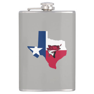 Texas Fishing Hip Flask