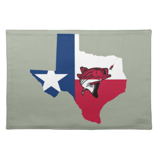 Texas Fishing Placemat