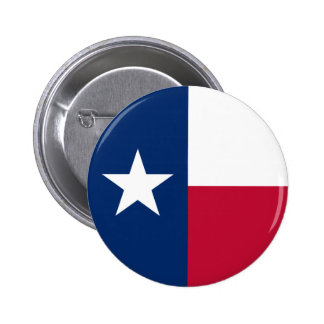 Texas Flag 2 Inch Round Button