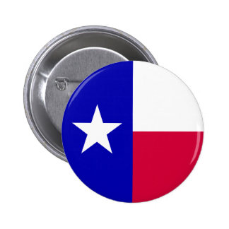 Texas Flag 2 Inch Round Button
