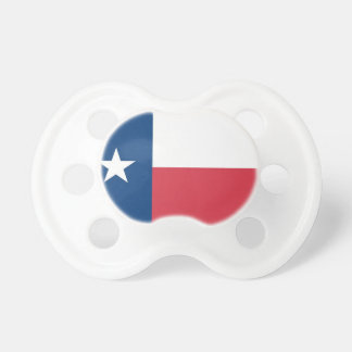 Texas Flag Baby Pacifier