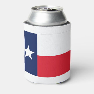 TEXAS FLAG CAN COOLER