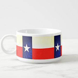 Texas Flag Chili Bowl