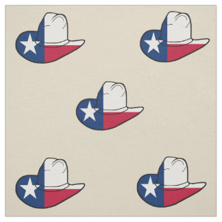 Texas Flag Cowboy Hat Fabric ANY COLOR