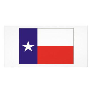 Texas Flag Custom Photo Card