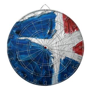 Texas Flag Dartboard