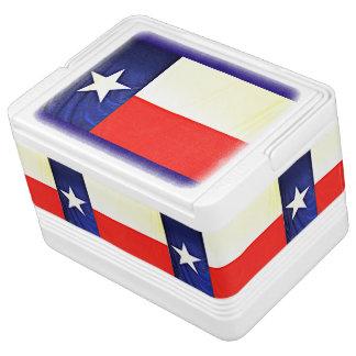 Texas Flag Igloo 12 Can Cooler